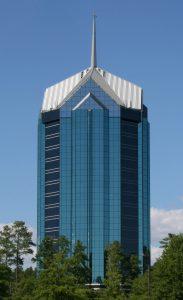photo of university tower