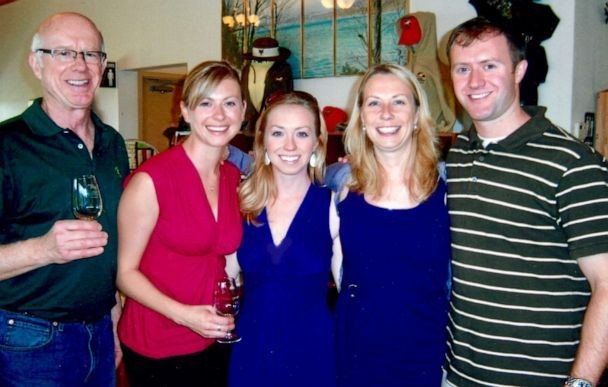 image of Donald Adair and his children, including Center Assistant Director Carrie Adair.